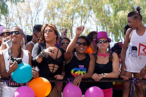 Pride parades in South Africa - Cape Town Pride 2014