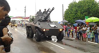 Suriname National Army - Image: 20141125cascavelsuri name