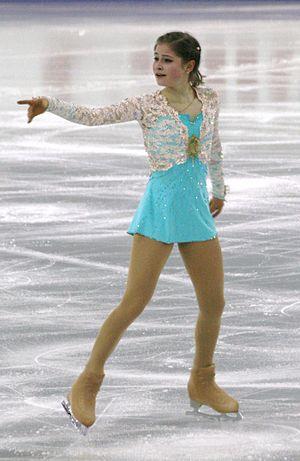 Yulia Lipnitskaya - Lipnitskaya at the 2014–15 Grand Prix Final