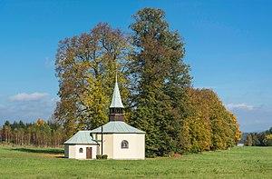 Wolany, Lower Silesian Voivodeship - Image: 2014 Kapliczka w Wolanach 01