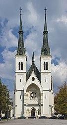 2014 Ostrawa, Kościół Niepokalanego Poczęcia NMP 02.jpg