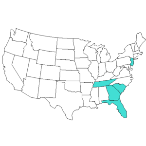 2015 Atlantic Sun Conference Map.png