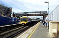 2015 London-Abbey Wood, Railway Station, Crossrail construction site 1.jpg