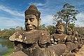 2016 Angkor, Angkor Thom, Brama południowa (13).jpg