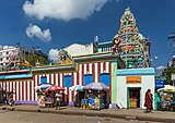 2016 Rangun, Świątynia Maha Vishnu (04).jpg