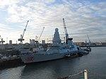 2017-01-17 HMS Dragon, Portsmouth Harbour (1).JPG
