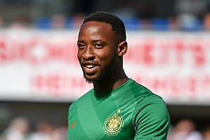 Moussa Dembélé (French footballer) - Dembélé playing for Celtic in 2017