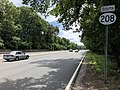 2018-07-21 11 48 23 View south along New Jersey State Route 208 just south of Bergen County Route 93 (Cedar Hill Avenue) in Wyckoff Township, Bergen County, New Jersey.jpg