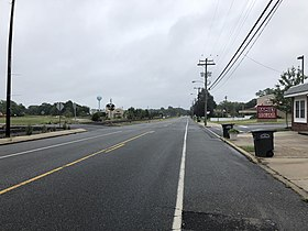 2018-09-10 16 55 07 View south along Gloucester County Route 615 (West Boulevard) just south of Gloucester County Route 661 (Salem Avenue-Catawba Avenue) in Newfield, Gloucester County, New Jersey.jpg