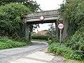 2018-09-12 Dissused Bridge, Norfolk and Suffolk Joint Railway, The Street, Knapton.JPG