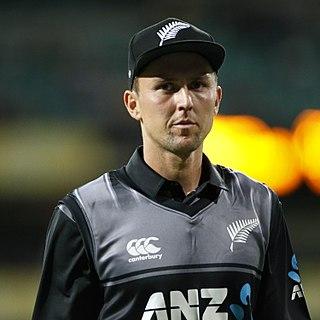 Trent Boult New Zealand cricketer
