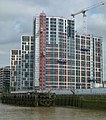 2018 View from Woolwich Ferry of Woolwich 07.jpg