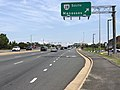 2019-08-19 13 38 49 View north along U.S. Route 29 (Lee Highway) at the exit for Virginia State Route 28 SOUTH (Manassas) in Centreville, Fairfax County, Virginia.jpg