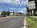 2020-08-19 12 01 02 View north along Maryland State Route 212 (Riggs Road) at Maryland State Route 410 (East-West Highway) in Chillum, Prince George's County, Maryland.jpg