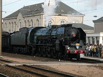 SNCF Class 241P - Preserved 241.P.17