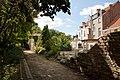 25406 Ingestort stuk stadsmuur in Sint Donatuspark.jpg