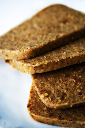 English: photo of sliced scrapple