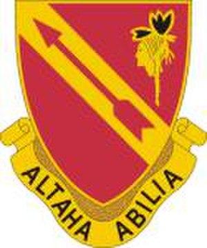 291st Infantry Regiment (United States) - Regimental Distinctive Unit Insignia