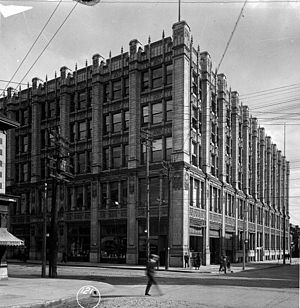299 Queen Street West - 299 Queen Street West, then the headquarters of the Methodist Church, in 1919.