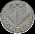 2 francs état français avers.png