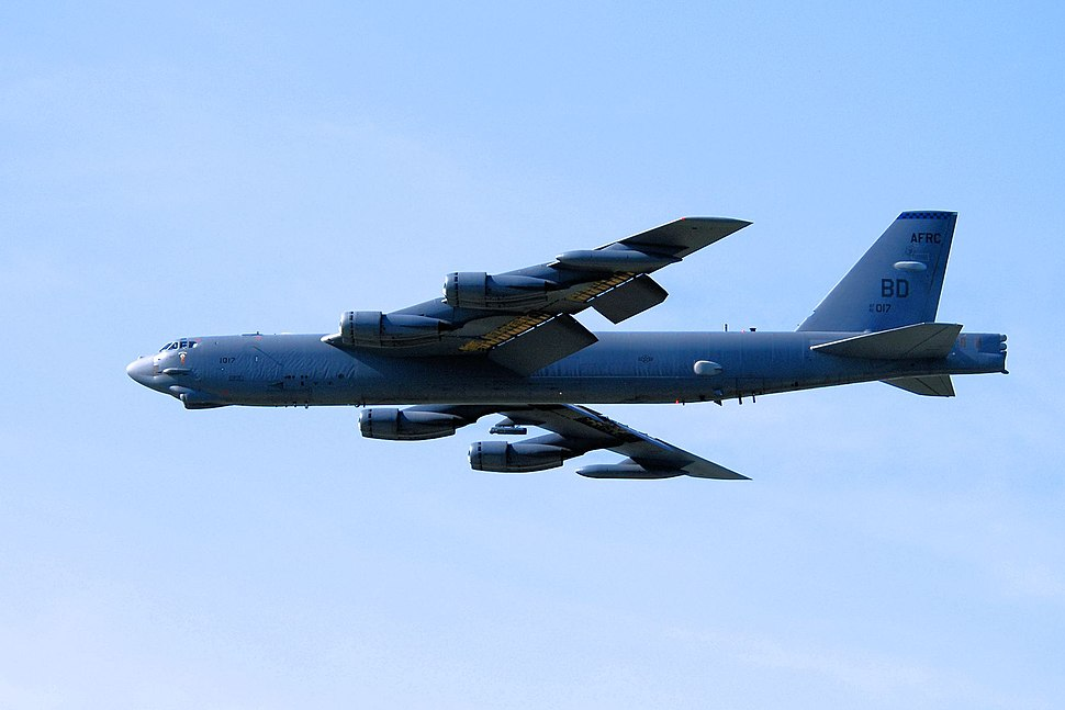 307th Bomb Wing - Boeing B-52H-170-BW Stratofortress 61-0017