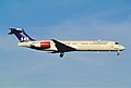 329an - Scandinavian Airlines MD-87, LN-RMP@ZRH,30.10.2004 - Flickr - Aero Icarus.jpg