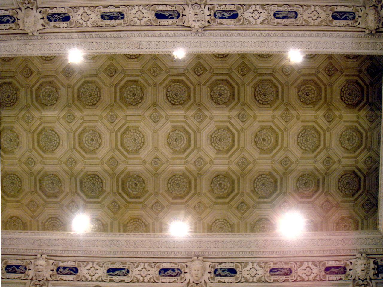 File:3505 - Milano - Palazzo Marino - Sala Alessi - Soffitto - Foto Giovanni Dall'Orto, 17-Feb ...