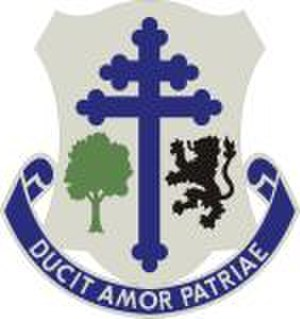 91st Division (United States) - Image: 361st Regiment Distinctive Unit Insignia