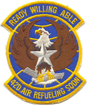 42d Air Refueling Squadron - Emblem of the 42d Air Refueling Squadron