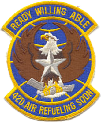 42nd Air Refueling Squadron - Emblem of the 42d Air Refueling Squadron