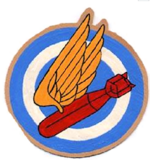 509th Bombardment Squadron - Emblem