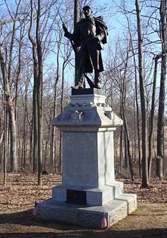 53rd Pennsylvania Infantry Regiment - 53rd Pennsylvania Infantry Monument, Brooke Avenue, Gettysburg Battlefield