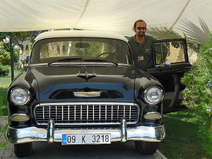 1955 Chevrolet - 1955 Chevy in Turkey 2007, with its owner