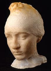 Head of Camille Claudel