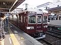 6300 series local at Hankyu Katsura Station.jpg