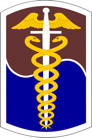 65th Medical Brigade (United States) - Shoulder sleeve insignia