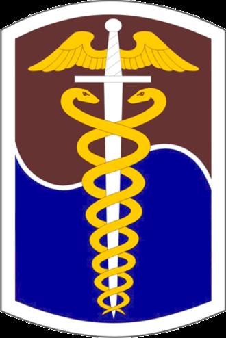 65th Medical Brigade (United States) - Shoulder sleeve insignia