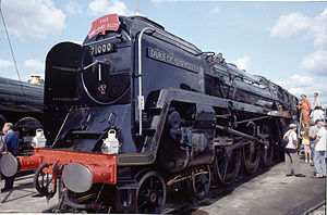 Caprotti valve gear - ''Duke of Gloucester''