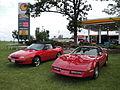 84 Chevrolet Corvette & 93 Mercury Capri (5889056433).jpg