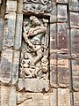 8th century Nataraja dancing on a demon at Virupaksha temple, Pattadakal Hindu monuments Karnataka 1.jpg