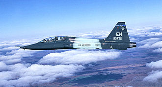 Sheppard Air Force Base - Image: 90th Flying Training Squadron T 38 Shepphard AFB TX