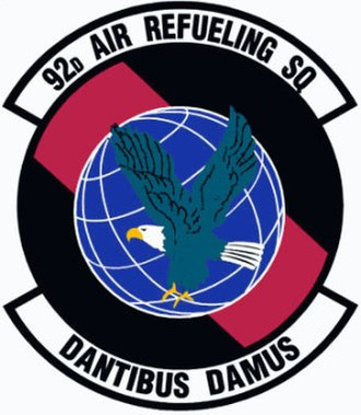 92d Air Refueling Squadron - Image: 92d Air Refueling Squadron