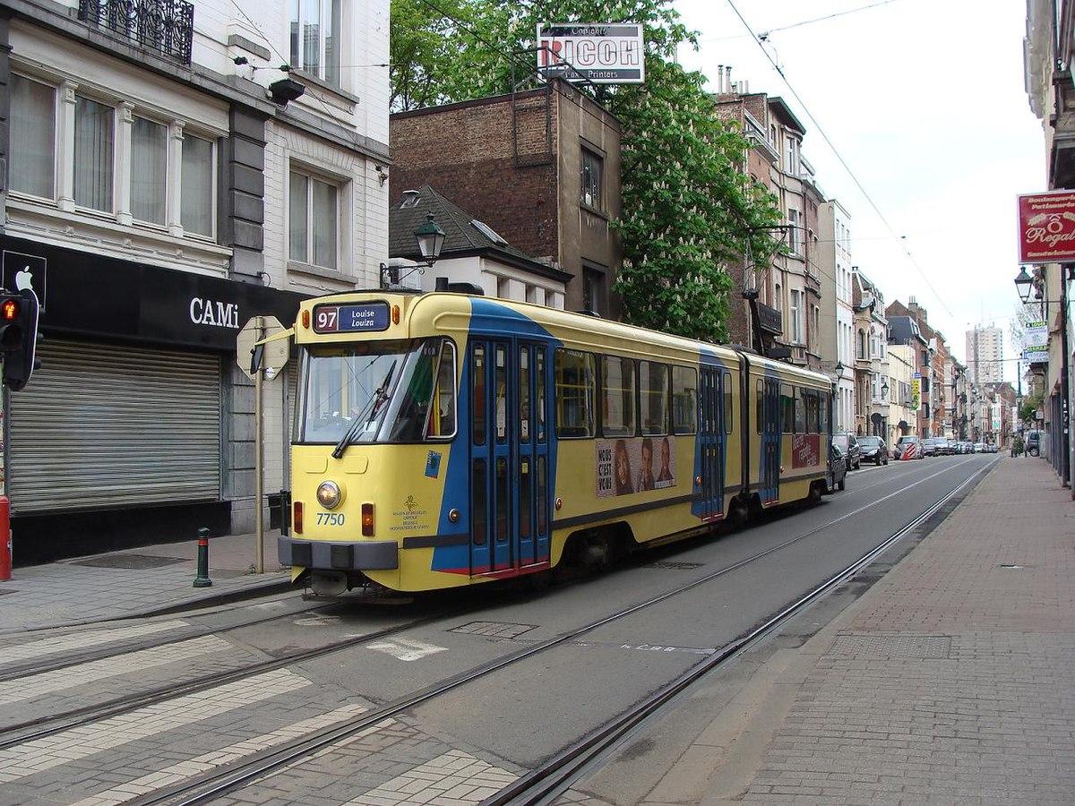Ligne 97 du tram de bruxelles wikip dia - Roi du matelas schaerbeek ...