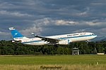 9K-APA Airbus A330-243 A332 - KAC (28385997410).jpg