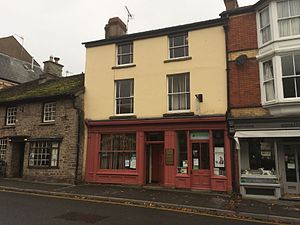 Herbert Rowse Armstrong - Armstrong's offices in Hay-on-Wye in 2014; he was arrested here on 31 December 1921. The building is still used by a firm of solicitors