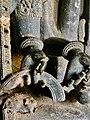 9th to 13th century temple parts and artwork, Kolanupaka museum, Telangana India - 40.jpg