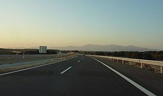 Autovía A-22 - Autovía A-22 seen towards Huesca