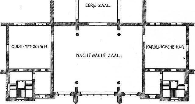 Plattegrond Van Het Rijksmuseum.Bestand A W Weissman Proposal Alteration Rijksmuseum Plan 1