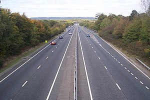 A21 road (England) - A21 near Leigh, Kent