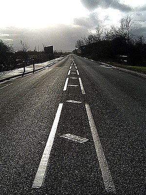 A403 road - The A403 at Avonmouth
